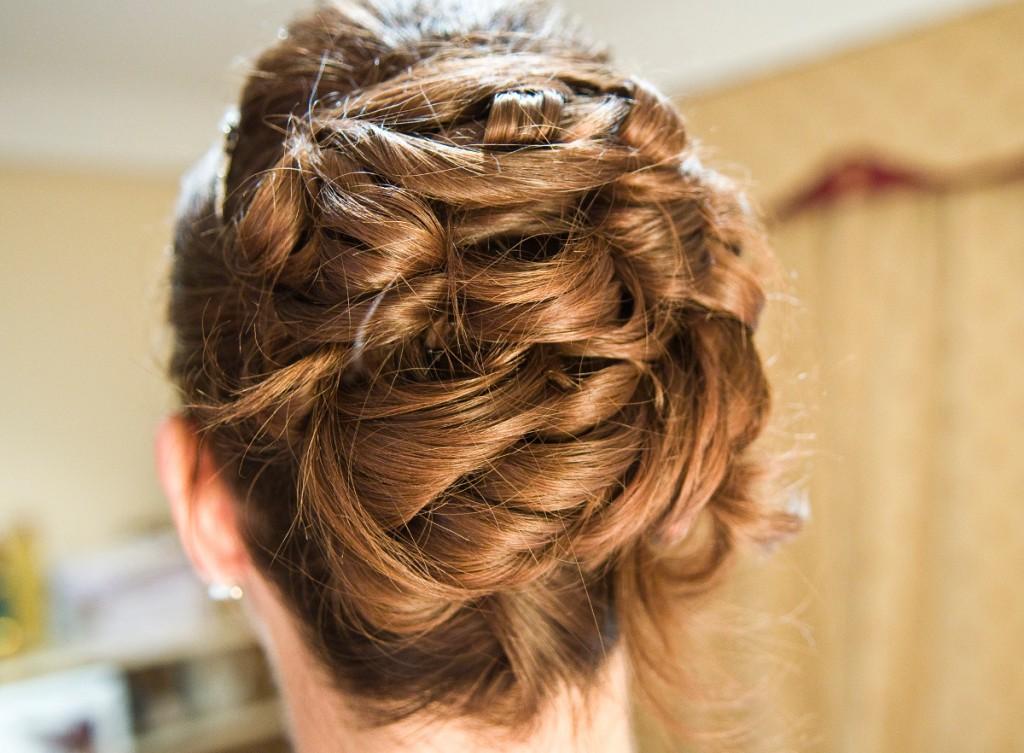 Ślubne ozdoby włosów diadem