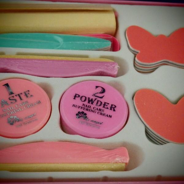 Manicure japoński zestaw