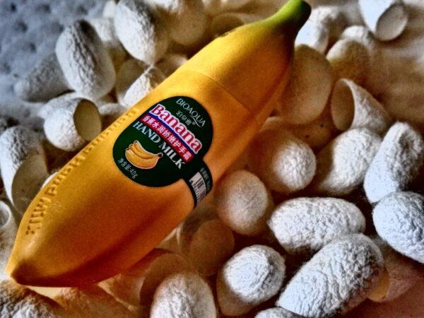 Bananowy krem do rąk