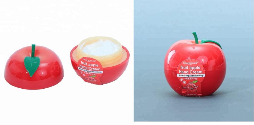 Owocowe kremy do rak jablko