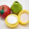 Owocowe kremy do rak w ksztalcie owocow