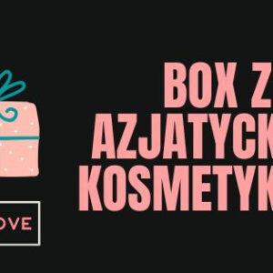 Box z azjatyckimi kosmetykami