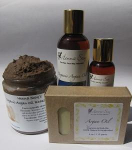 Kosmetyki z olejem arganowym