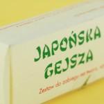Maseczka Uguisu – japońska gejsza