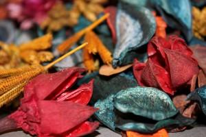 Aromaterapia potpourii