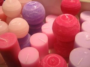 Aromaterapia świeczki zapachowe