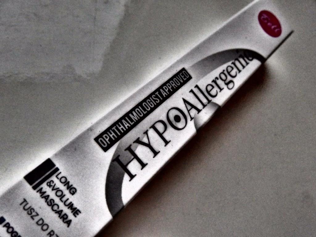Hipoalergiczny tusz do rzęs