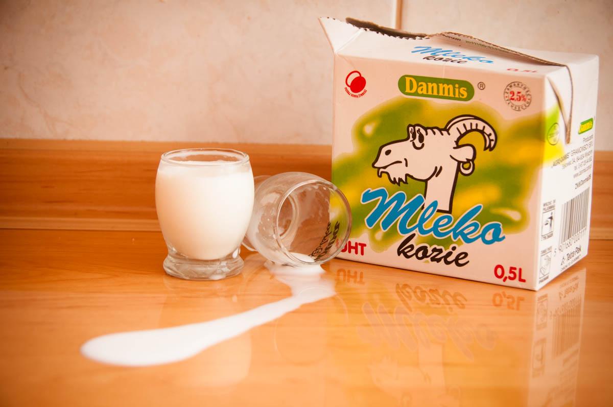 Kozie mleko na twarz