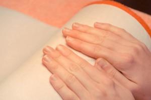 Manicure japoński wykonanie