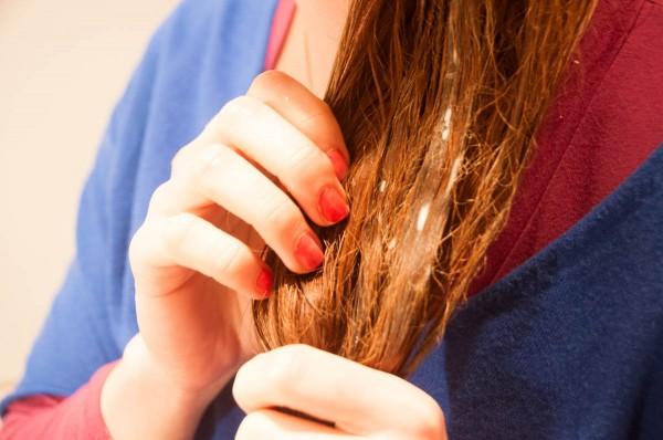 Masło Shea na włosy maseczka