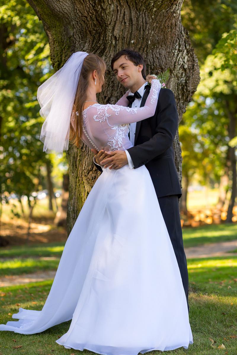 Moja suknia ślubna krawcowa