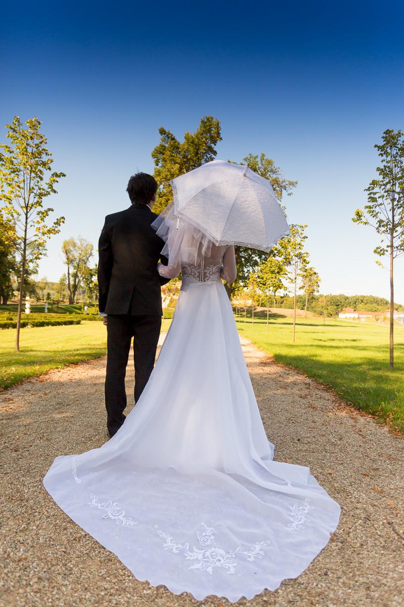 Moja suknia ślubna od krawcowej