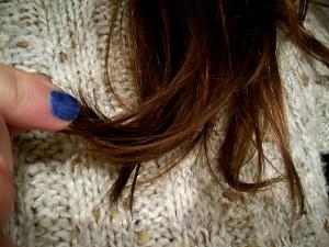 Nafta kosmetyczna na włosy efekty