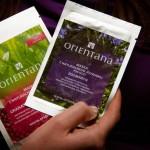 Orientana – maseczka granat i zielona herbata na twarz oraz maseczka z rozmarynem pod oczy