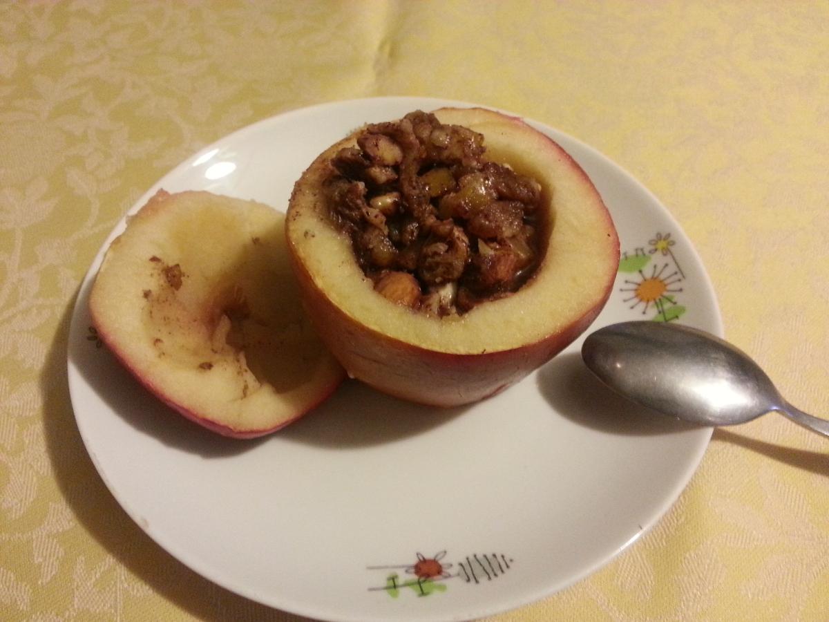 Pieczone jabłka przepis