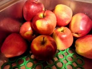 Pieczone jabła składniki