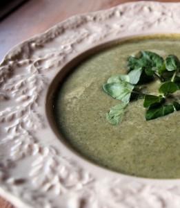Rukiew wodna zupa