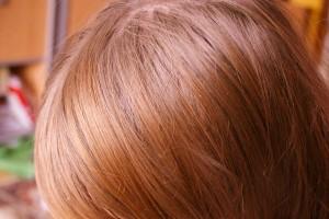 Suchy szampon efekt